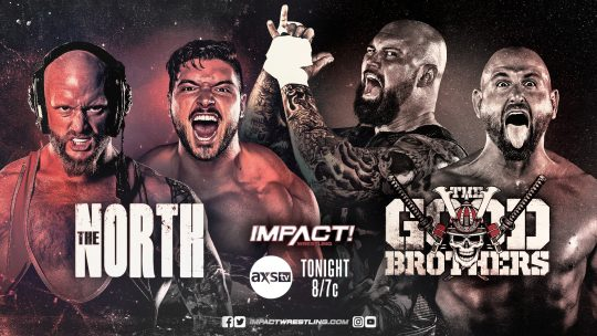 Impact Results - Oct. 20, 2020 - The North vs. The Good Brothers