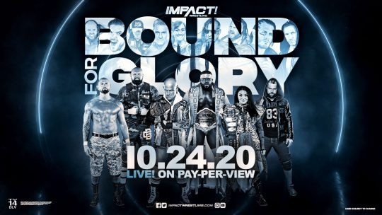 Impact Bound for Glory PPV Card
