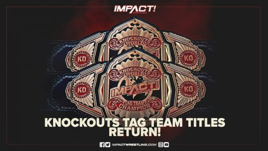 Impact: Three Title Changes at BFG, Knockouts Tag Titles Returning
