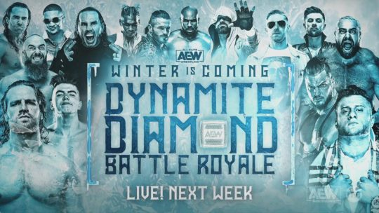 Five Matches Announced for AEW Winter Is Coming