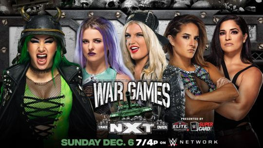 Four Matches Announced for NXT TakeOver: WarGames