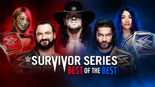 WWE Survivor Series Results - Nov. 22, 2020 - Reigns vs. McIntyre, Undertaker's Goodbye