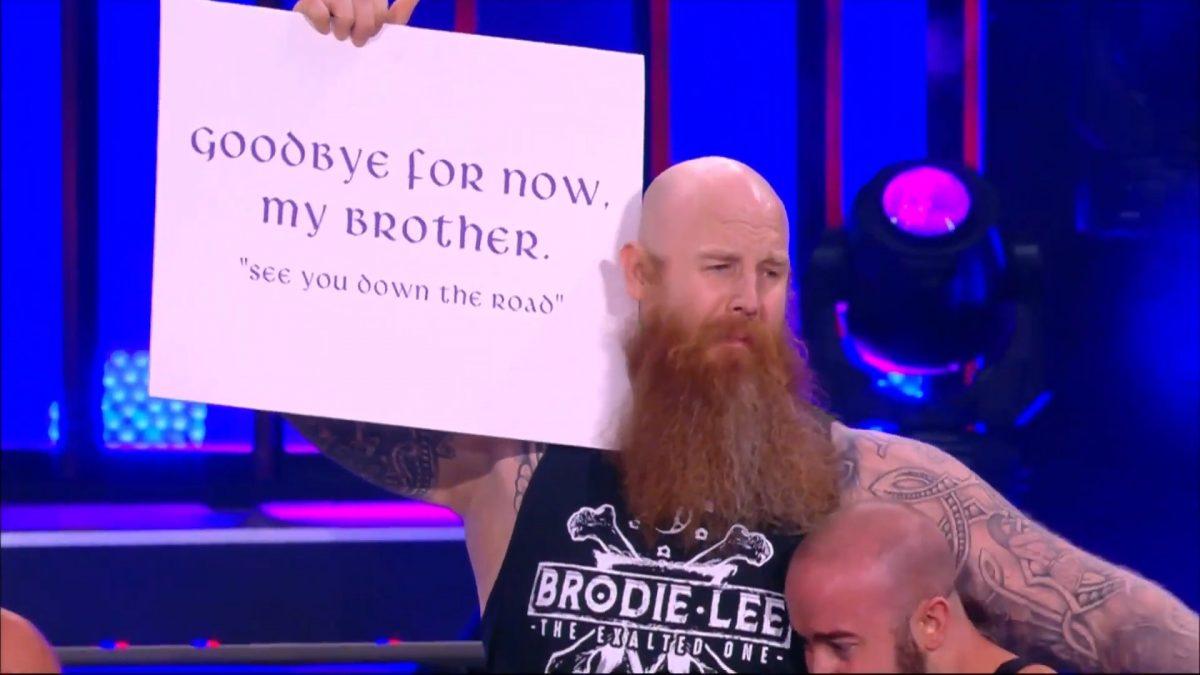 Erick Rowan Appears on AEW Dynamite Brodie Lee Tribute ...