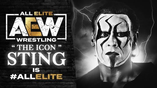 Sting Signs Multi-Year Contract With AEW, Appears on Dynamite
