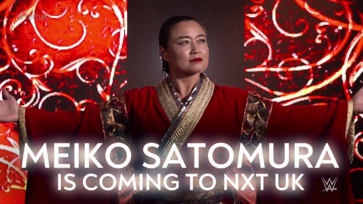 Meiko Satomura Signs Contract with WWE for NXT UK Brand – TPWW