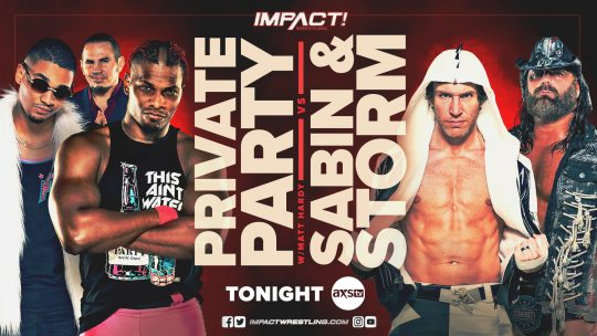 Impact Results - Jan. 19, 2020 - Private Party vs. Chris Sabin & James Storm