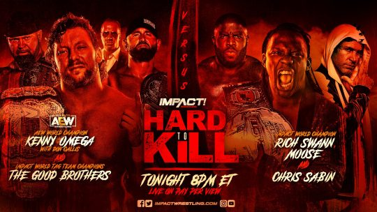 Impact Hard to Kill Results - Jan. 16, 2021 - Omega & Good Brothers vs. Swann, Moose, Sabin