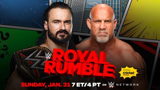 Updated WWE Royal Rumble Card & Participants
