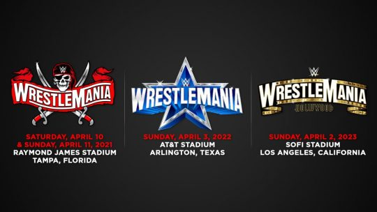 WWE Announces Dates and Locations for the Next Three WrestleManias, Some Fans Expected at WM 37