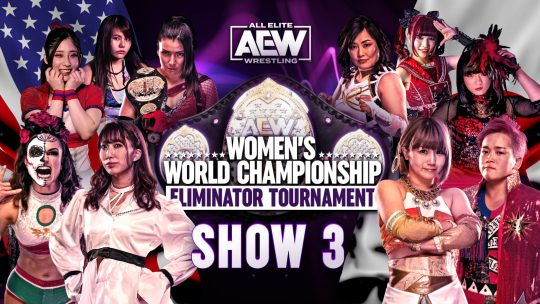 AEW Women's Eliminator Tournament Show 3 Results - Feb. 28, 2021 - Rosa vs. Riho, Japan Finals