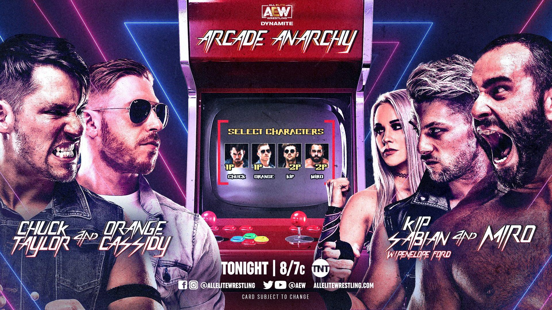 AEW Dynamite Results - Mar. 31, 2021 - Arcade Anarchy - TPWW