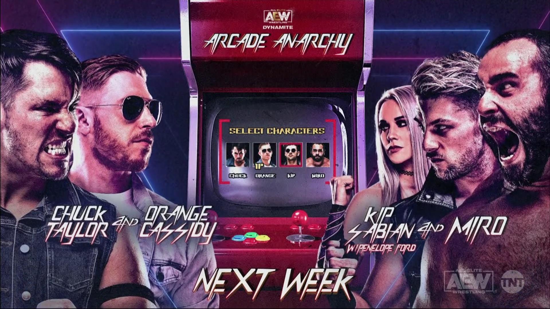 AEW Dynamite & NXT Cards for Tonight - TPWW