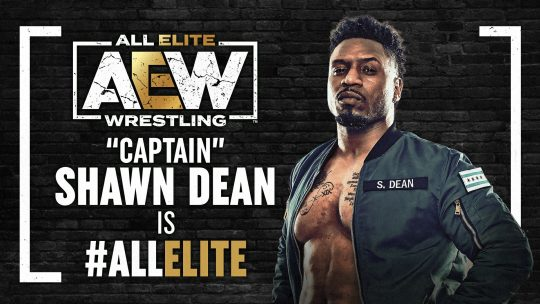 AEW Signs Shawn Dean