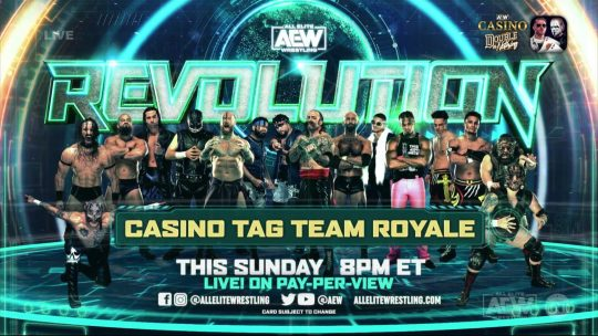 Eight More Teams Added to AEW Casino Tag Team Royale