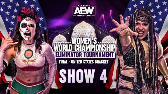 AEW Women's Eliminator Tournament Show 4 Results - Mar. 1, 2021 - Rosa vs. Rose