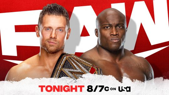 WWE Raw Results - Mar. 1, 2021 - The Miz vs. Lashley for WWE Title