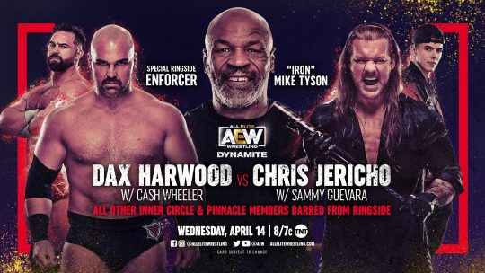 AEW Dynamite Results - Apr. 14, 2021 - Mike Tyson, Allin vs. Hardy