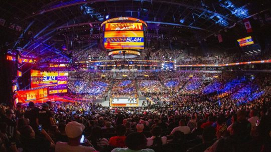 "WWE Has Plans to Tour With Live Fans Again ""Soon,"" WWE President Says"