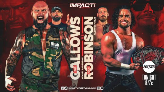 Impact Results - May 6, 2021 - #1 Contender Match Qualifiers