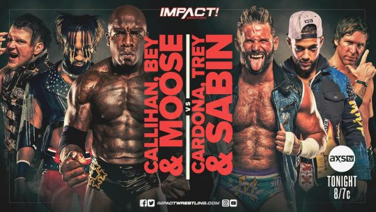 Impact Results - May 13, 2021 - Six Man Tag Match