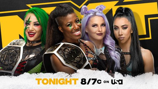NXT Results - May 4, 2021 - NXT Women's Tag Title Street Fight