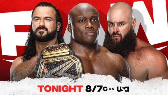 WWE Raw Results - May 3, 2021 - Lashley vs. Strowman