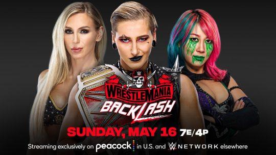 Updated WWE WrestleMania Backlash Card