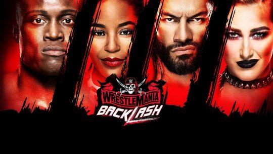 WWE WrestleMania Backlash Results - May 16, 2021 - Reigns vs. Cesaro