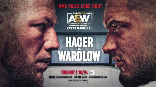 AEW Dynamite Results - June 19, 2021 - Hager vs. Wardlow Cage Fight