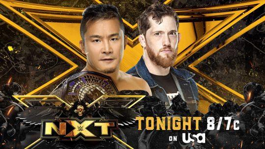 NXT Results - June 22, 2021 - Kushida vs. O'Reilly
