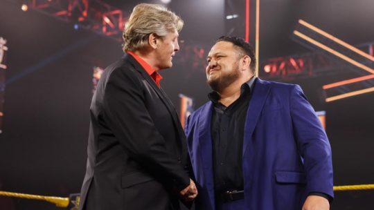 Samoa Joe Back in NXT as GM William Regal's Enforcer