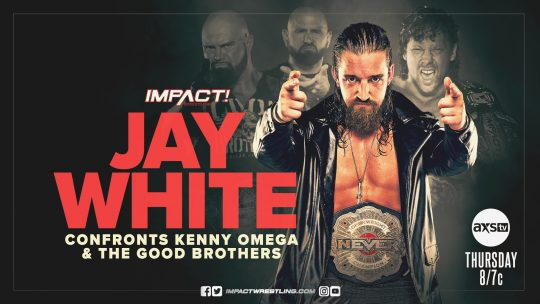 Impact Results - July 22, 2021 - Jay White, Knockouts Tag Team Title Match