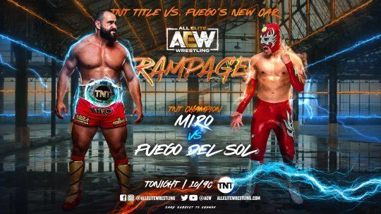 AEW Rampage Results - Sep. 17, 2021 - Miro vs. Fuego, Lucha Bros vs. Butcher & Blade