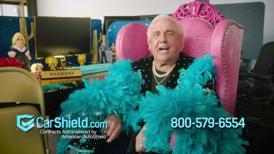 """CarShield """"Pauses"""" Ric Flair Commercials After """"Dark Side of the Ring"""" Episode"""