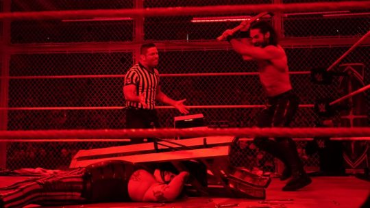 """Seth Rollins Says He """"Was Ready to Strangle Vince McMahon"""" After HIAC Match Against Wyatt"""