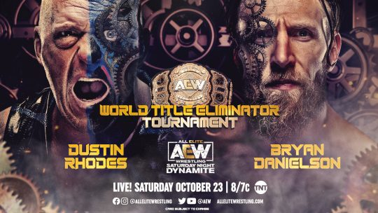 AEW Dynamite Cards for Tonight and Next Wednesday
