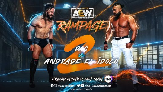AEW Rampage Results - Oct. 22, 2021 - Andrade vs. Pac