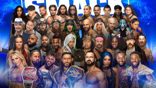 WWE SmackDown - Oct. 22, 2021 - Reigns and Lesnar Face Off